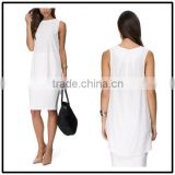 2015 china manufacturer customized the latest design summer fashion white top