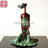 Patented Home Decoration Bronze Figure Statue Home Decor Primitive Home Decor