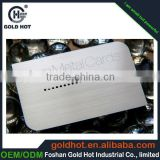 high quality electrical appliance metal logos Anodizing Label
