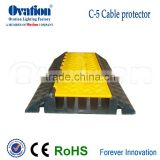 OVATION light Cablecross 5 channels Cable Protector maximun Lode-bearing of 10 tons                                                                         Quality Choice