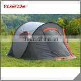 3 Person Family Popup Camping Tent Foldable Outing Hiking Travel Beach Shelter