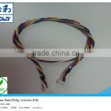 Custom JST 5 PinUL 1007 22AWG 5 Core 80C 300V Cable Assembly