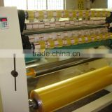 BOPP adhesive tape slitting machine, paper core loader & cutter, doctor machine