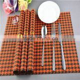 30*45 CM pvc dining table mat Houndstoot europe breakfast lunch Plastic Waterproof Table dinner placemats for promotion