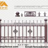 Hot sale Decorative aluminum fence and gates for garden AJLY-903