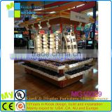 attractive exhibition booth design for sunglasses,sunglasses display rack/case,display stand for sunglasses