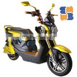 Electric Motor scooter with 1200W brushless hub motor 20 AH 60V battery