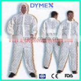 Nonwoven overall suit /safety coverall /factory uniform coverall /disposable work overall