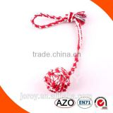 Christmas product cotton rope pet toy for dog