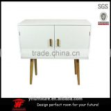 Good sales furniture wooden portable bedside table wood