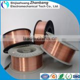 copper coated 70s-6/aws a5.18 er70s-6 co2 welding wire/CO2 Gas shielded welding wire ER70S-6