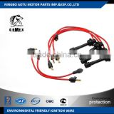 Silicone Cable Material Ignition wire set ignition cable kit spark plug wire 90919-21473 for TOYOTA                                                                                                         Supplier's Choice