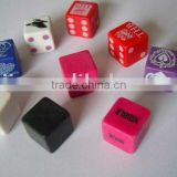 customized blank dice