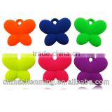 colorful acrylic butterfly bead for decoration