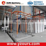 2015 new design Automatic Powder Coating line/ automatic electrostatic powder coating booth/