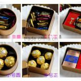 alibaba china decorate 3 size gold tin box wedding favor boxes/decorative boxes for sweets