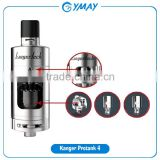One tank for all vapors kanger protank 4 with Dual Clapton coil Ceramic coil MTL 1.5 ohm coil