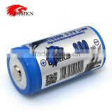 IMREN 18350 IMR 18350 battery IMREN IMR18350 800mAh 3.7V Li-Mn rechargeable battery with button top max life battery
