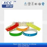 Disposable wristband rfid paper wristband for event