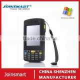 Most popular touch screen handheld pda barcode scanner , 3.5 inch WIN CE 6.0 PDA barcode scanner