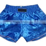 Women Muay Thai Boxing shorts Supplier, Color Blue, Style#001