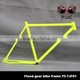 High carbon steel fixed gear bike frame 46,52cm in stock