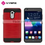 Alibaba china cases smartphones hybrid brushed metal shockproof case for ZTE Z963U