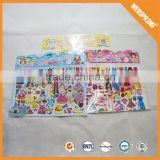 High quality none-toxic kids puffy label custom 3d sticker