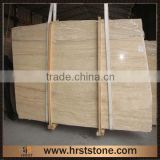 Polished Beige Marble Travertine Slab ,Travertine Tiles