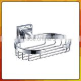 bathroom accessories metal chrome soap basket 2372