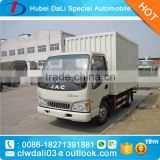 jac right hand drive diesel cargo truck