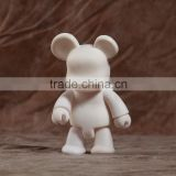 15cm pop bear blank diy figurine have in stock to sale, custom make your own brand design diy toy