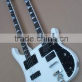 Weifang Rebon Double neck Ricken electric guitar/electric bass guitar/guitar
