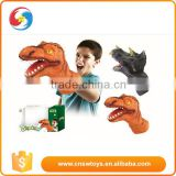 DW2401678 Kids dino PVC dinosaur puppet animal hand puppet                                                                         Quality Choice