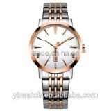YB watch unisex simple mesh rose gold italian leather watch straps genuine leather watch                                                                         Quality Choice