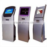 24 inch Free Standing LCD Hotel check in kiosk with pc(i3)