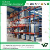 2015 Hot sell best price 4 layer long span heavy duty steel warehouse rack, racking systems warehouse pallet racks (YB-WR-C56)