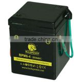 price for motor battery i gel motorcycle MF battery 6v 4ah rechargeable batteries BPM6-4