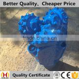 TCI rock tricone bit with tungsten carbide insert teeth for hard formation granite                                                                         Quality Choice