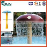 Guangzhou factory sale water park water spray equipment mushroom umbrella for kids play water