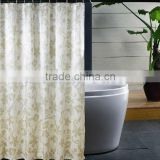 Latest Promotional Wholesale Shower Curtain With Bath Rug Sets