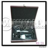 Promotional Wine Tool Set With Wooden Box