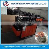 Professional cleaning ball knitting machine,chain link fence making machine,wire mesh machine