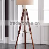 1024-11 sophisticated and timeless Cherry Finish Wood Surveyor Tripod Floor Lamp a unique visual look                                                                         Quality Choice