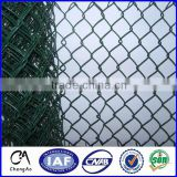 galvanized chain link wire mesh/PVC Coated Chain Link Fence/used chain link fence for sale factory