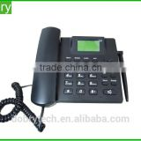 Good Quality dual band quad band GSM Cordless Desk Phone wireless table phone with FM radio Rechargeable Battery