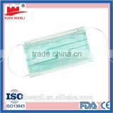 Surgical mask 3-layer filter and clamp
