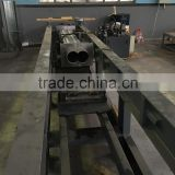 alloy steel twin barrel for extruder with bimetallic liner and longer life time