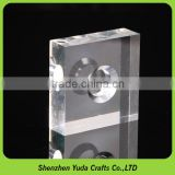 Machined Glass Plastic Components CNC Router Machining Clear Acrylic with Polished Service