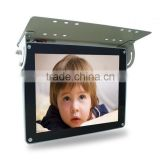 Hot 19 inch ceiling mounted bus advertising digital signage for 1080p video display support wifi 3g for bus advertising